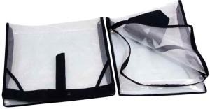 Kuber Industries Designer Shirt, Trouser cover in full transparent net 2 Pcs set MKU5083