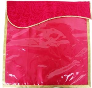 Wedding Pitara Designer Velvet Magenta Saree Cover