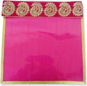 Wedding Pitara Designer Embroidered Magenta Saree Cover
