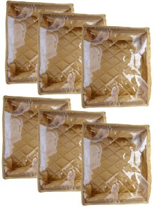 Mun Shree Designer Double Sarten 5 Saree Cover Box(Pack Of 6) MS-14