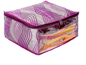 Kuber Industries Designer Kuber Industries Heavy Quilted Large Saree Cover (With Capacity of upto 15 Sarees) MKU00006642