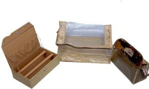 Kuber Industries Designer Saree Cover Bangle Box & Vanity Box MKU5007