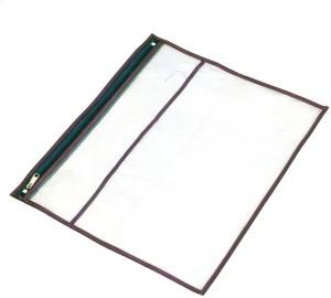 Kuber Industries Designer Single Packing Transparent Saree Cover Set Of 6 Pcs (With Zip Lock) KUBS36