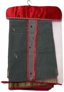 Kuber Industries Designer Single Satin Hanging saree Cover 6 Pcs Combo Mku223