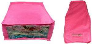 Addyz Plain Combo Of Ladies Large Non - Woven 1saree And 1blouse Cover. Upto 5 - 6SC and 9-10BC each