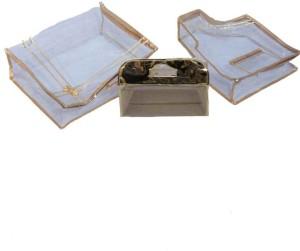 Kuber Industries Designer Saree Cover Blouse Cover Vanity Box MKU5027