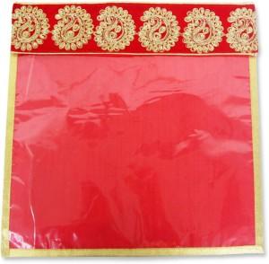 Wedding Pitara Designer Embroidered Red Saree Cover