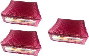 Addyz Plain Pack of 3 Saree Covers