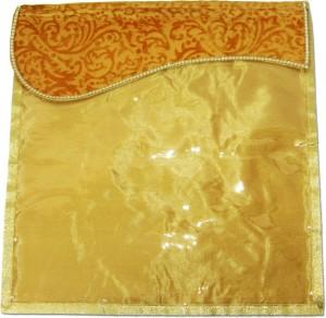 Wedding Pitara Designer Velvet Golden Saree Cover