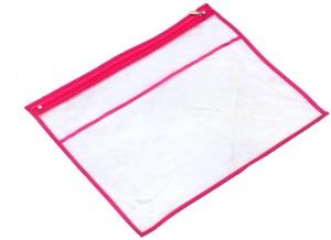Kuber Industries Designer Single Packing Transparent Saree Cover Set Of 3 Pcs (With Zip Lock) KUBS33
