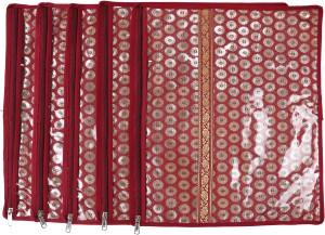 Speak Homes Pack of 5 Saree Cover Designer 12sc