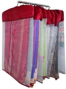 Fashion Bizz Premium Satin Hanging Saree Cover Set Of 12