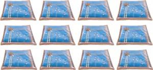 Annapurna Sales Designer Front Transparent Single Saree Cover - Set of 12 Pcs. Golden00393