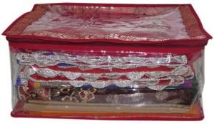 A-Maze Saree Covers Transparent Brocade Multi - Upto 15 Pcs