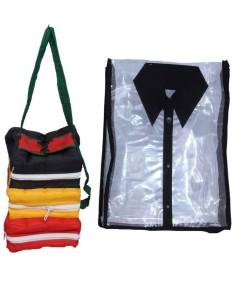 Kuber Industries Designer Shirt Cover & Shoe bag (2 Pcs set) MKU5096
