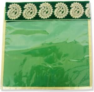Wedding Pitara Designer Embroidered Green Saree Cover