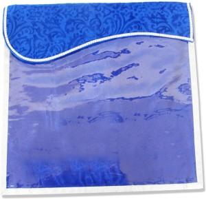 Wedding Pitara Designer Velvet Blue Saree Cover