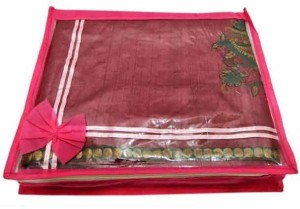 Kuber Industries Designer Non Wooven saree cover 6 Pcs combo Mku217
