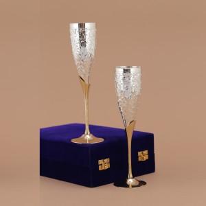Indecrafts Wine Goblet Glass Set