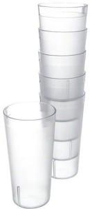 Enrich Plastic Glass Set