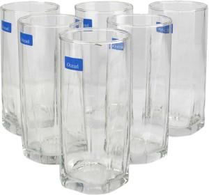 Ocean Pyramid Hi-ball Tumbler Glass Set