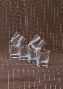 Pasabahce Carre Juice Tumbler Glass Set