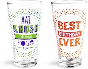 Happily Unmarried Glass Set
