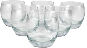 Pasabahce Barrel Whisky Tumbler Glass Set