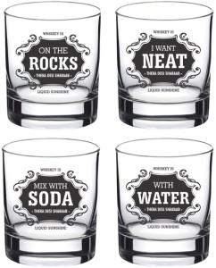 Ek Do Dhai Whiskey For All Glass Set