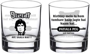 Ek Do Dhai Sharabi Glass Set