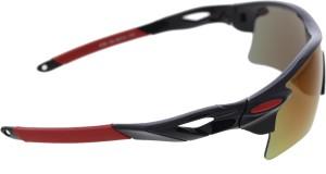 f4ea59fd2c Vast 7 Layer Anti Glare Wrap Around All Sports And Cricket GogglesBlack
