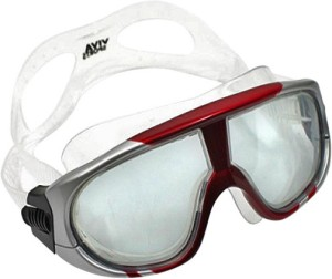 5873b6be37 Viva Sports Viva 400 Diving Mask Swimming Goggles Red Silver Best ...