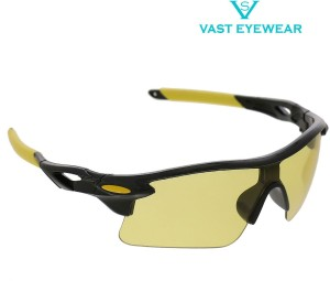 3e107e7972 Vast Special Night Driving Biking 7 Layer Anti Glare Wrap Around Smart  Cycling Goggles