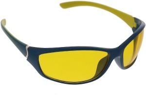 Vast Special Night Driving Biking 7 Layer Anti Glare Wrap Around Style Premium Cycling Goggles