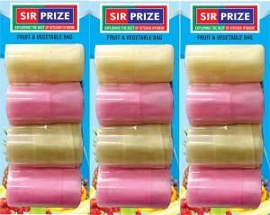 Sir Prize 12 Bags - Premium Vegetable Organiser Bags ( Reusable Fridge Bags / Net Bags ) ( 13