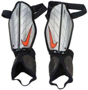 cb735a0997d9 Nike Protegga Flex Football Shin Guard Medium Silver Black Best ...