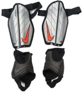 d126dc0e4b8 Nike Protegga Flex Football Shin Guard Medium Silver Black Best ...