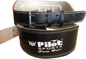 Pilot Sports Co Leather Weight Lifting Gym Belt Gym