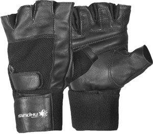 Sindhu Sports Muscle Power Gym Gloves with wrist support (L) Gym