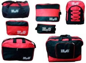 Instafit H2O Set Of 7 Red/Black Travel Bags Gym