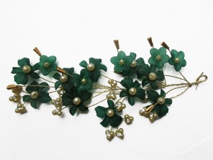 293347e982c WigOWig Beautiful Green Hair Brooches for Ladies Hair Band Green ...