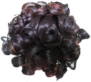 6b1c7261502 WigOWig Fancy Highlighted & Curly Messy Bun ( Multicolor ). ₹799. Bun;  Multicolor; Pack of 1 · WigOWig Beautiful Red Hair Brooches for Ladies Hair  Band ...