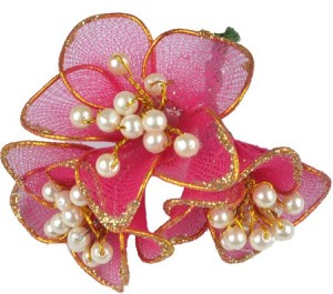 083bf517462 Majik Flowers For Bun Making Hair Clip Red Best Price in India ...