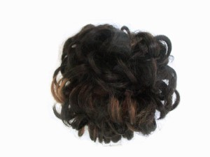0878bd1d51e WigOWig Fancy Highlighted Messy Hair Style for Ladies Bun Multicolor ...