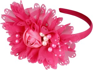 Yashasvi Beautiful and Stylish Head Bands For Girls Hair Band Pink ... b7449933166