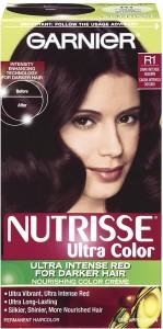 Garnier Nutrisse R1 Dark Intense Auburn Nourishing Hair Color Ultra
