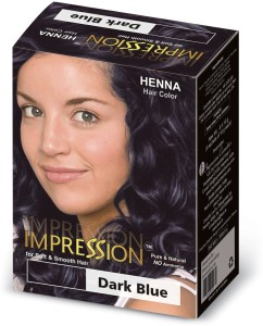 B Blunt Salon Secret High Shine Creme Hair Color Blue Black 2 10