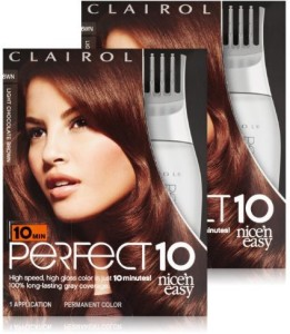 Clairol perfect 10 by nice and easy hair color 6wn light chocolate clairol perfect 10 by nice and easy hair color solutioingenieria