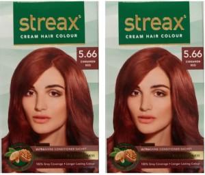 Streax Cream Cinnamon Red 5 66 Pack Of 2 Hair Color Cinnamon Red 5