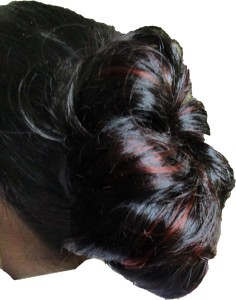 d71e7c465bc WigOWig Beautiful Black Bun with Red highlight Hair Extension Best Price in  India | WigOWig Beautiful Black Bun with Red highlight Hair Extension  Compare ...